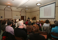 Lecture in Arnold Arboretum of Harvard University