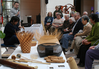 Demonstration in Peabody Essex Museum (PEM) Salem,MA,USA